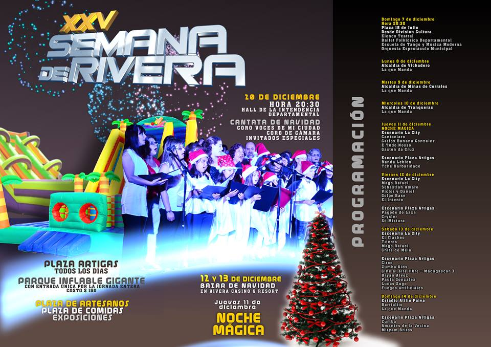 semana de rivera shows